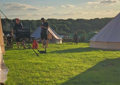 intentsGP campsite for the British MotoGP at Silverstone