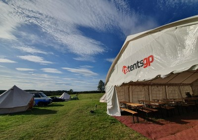 intentsGP campsite for the British MotoGP at Silverstone