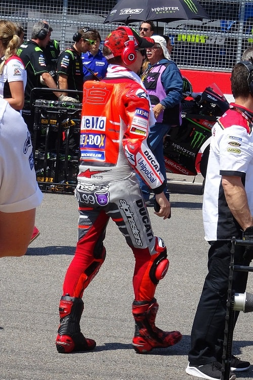 MotoGP leathers example
