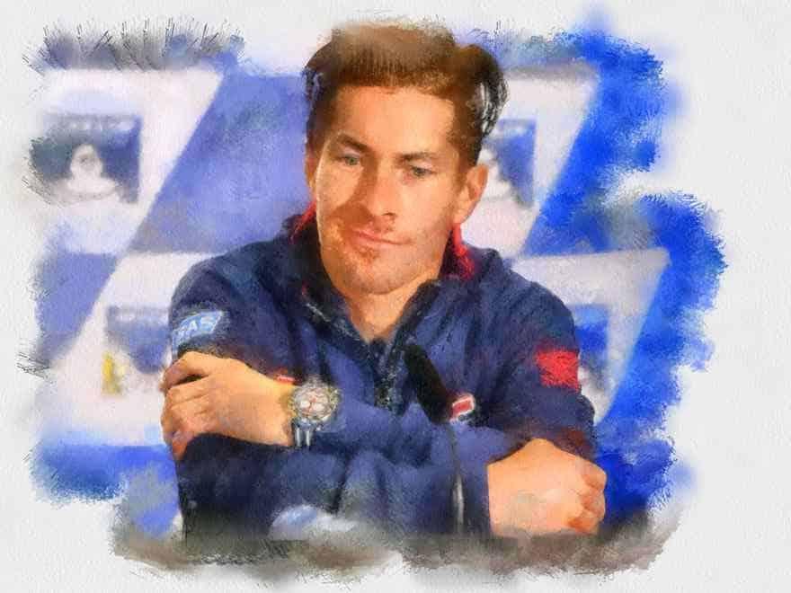 Nicky Hayden - MotoGP art (watercolour)