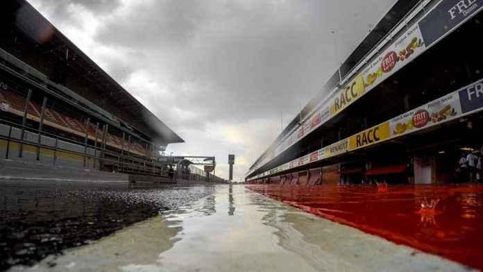 Qatar MotoGP in the rain