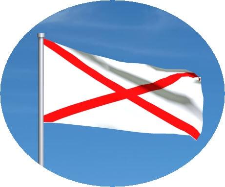red cross motogp flag