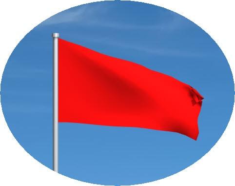 red motogp flag