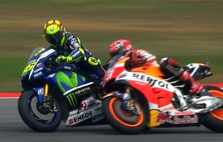 Rossi Marquez incident Sepang MotoGP 2015