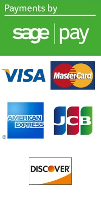All payments secured by Sage Pay