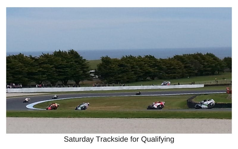 Saturday Qualifying Phillip island MotoGP