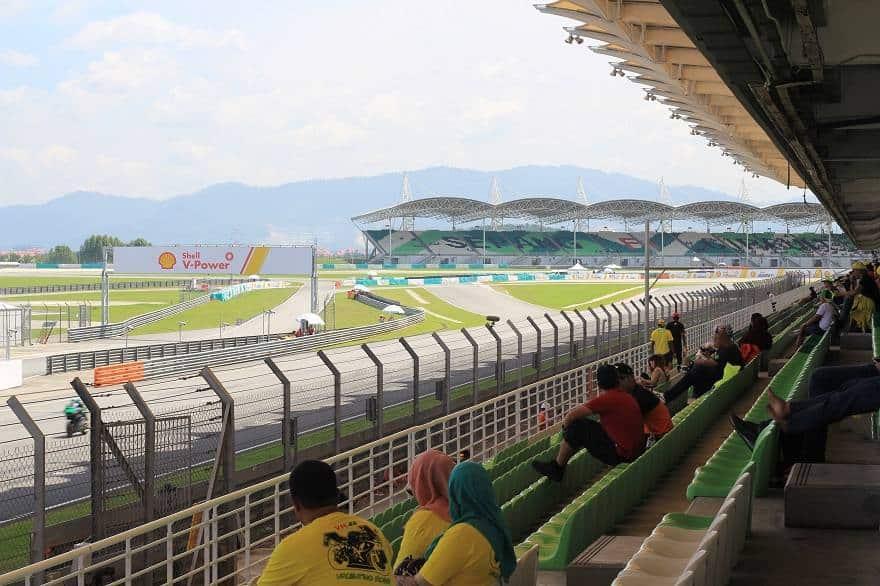 Sepang main grandstand