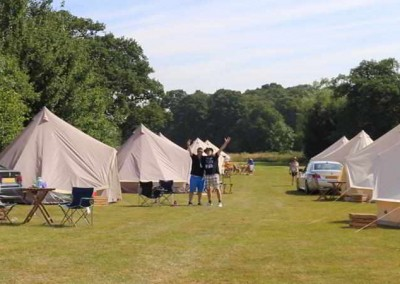 British F1 Grand Prix Pre Pitched Camping and Glamping with intentsGP