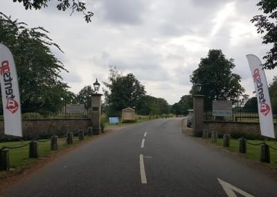Whittlebury Park entrance