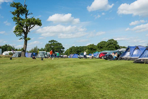 Pre-Erected C&ing at the British F1 Grand Prix at Silverstone & Silverstone F1 Camping 2018 - British Grand Prix Camping with ...