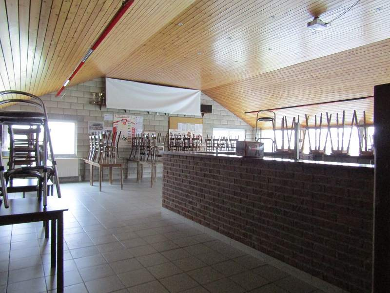 intentsGP campsite licensed bar for the Belgian F1 Grand Prix