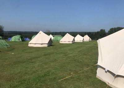 intentsGP campsite at the Belgian F1 Grand Prix