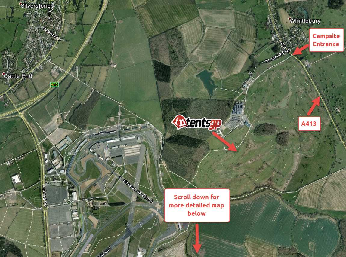 intentsGP general map of Silverstone area